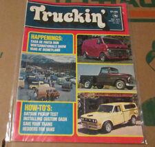 Truckin' Magazine - July 1975 Volume 1, No 2 - 4x4 Van Truck rare vintage