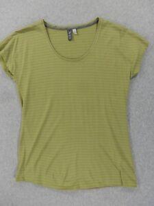 Ibex 100% Merino Wool Tee Shirt (Womens Small) Green