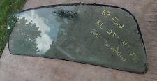 1969 Ford XL 2 Dr HT - FB Original Rear Window Glass Tinted Carlite