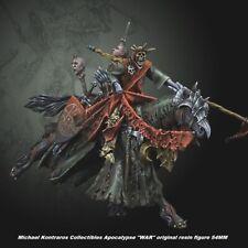 "Michael Kontraros Collectibles Apocalypse ""WAR"" original resin figure 54MM"
