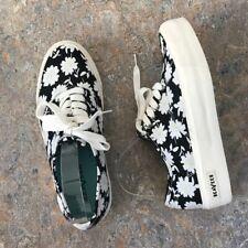 Seavees Legend Platform Floral Daisy Shoes Sz 9.5