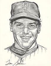 3 1969 NY Daily News New York Mets Portfolio Ryan Tom Seaver Gil Hodges NOS Mt