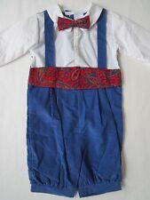 NWT Boy's Knickers Suit 12m Kids Childs NOS Church Holiday Cummerbund Outfit Set