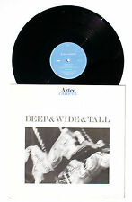 AZTEC CAMERA: Deep & Wide & Tall LP WEA RECORDS YZ154T US 1987 NM