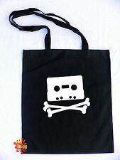 Pirate Bay Casa Con Ribete De Cinta De Algodón Tote Bolsa Shopper