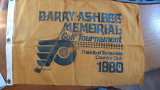 BARRY ASHBEE MEMORIAL GOLF TOURNAMENT HOLE PIN FLAG 1980
