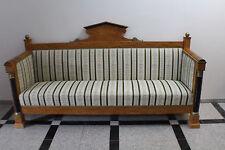 Sofa Kautsch Sitzbank Biedermeier Empire Birke  #4007