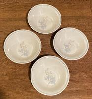 Noritake Keltcraft Ireland KILKEE 9109 Set of 4 Cereal Bowls - Blue Floral