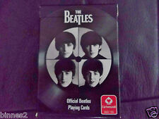 THE BEATLES OFFICIAL APPLE CORPS 54 DESIGNS PLAYING CARDS SEALED BRAND NEW.