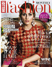 HELLO Fashion Magazine October 2014,Olivia Palerm  NEW