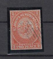 CN7345/ CANADA – NEWFOUNDLAND – SG # 10 USED SISMONDO CERTIFICATE – CV 970 $