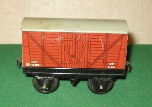 Vintage O Gauge Hornby  No.30 Goods Van BR Livery