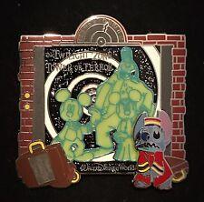 Stitch Tower of Terror Bellhop Elevator E-Ticket Attraction Disney Pin Glow Dark