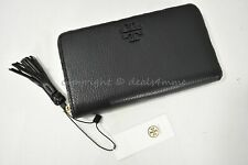 Tory Burch Taylor Zip CONTINENTAL Wallet Black 52721 1018