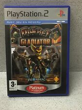Games PS2 Ratchet Gladiator Non Platinum with Record PLAYSTATION