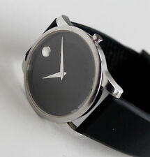 MOVADO Luxury Mens Watch, Black Face, 07.1.14.1142, Museum model, LARGE face!