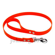laisse biothane Gold 25 mm x 1,20 m orange - jokidog