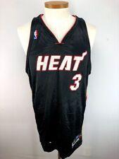 4bfb96046 Vintage NBA Miami Heat Dwayne Wade  3 Authentic Reebok Jersey Sewn Size 48