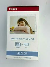 Canon KP-108In Color Ink/Paper Set 108 4x6 Sheets with 3 Toners 3115B001