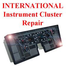 Navistar International Instrument Gauge Cluster Dash Panel Speedometer Repair