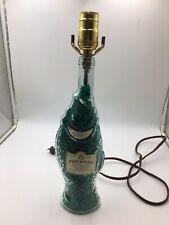 Vintage LAMP Pescevino Italian Wine Bottle~Fish Shaped