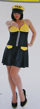 Taxi Costume / Dress for adults Carnival Halloween Size L