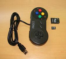 USB GAMEPAD AND GENUINE SANDISK 32GB MICRO SD RETROPIE SNES RASPBERRY PI 3B 3B+