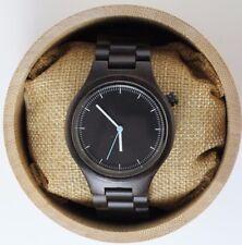 Unisex Ebony Wood watch, personalized watch, Woman watch,men wood watch, watch