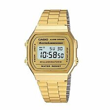 Casio's Classic Retro watch in oro luminanza ALARM CHRONO DIGITALE a168wg-9wdf …