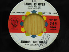 Addrisi Brothers 45 The Dance is Over bw Sleeping Beauty   WB VG+ rock