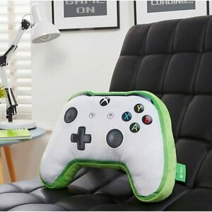 White Controller-Shaped Plush Xbox One Cushion for Gamers Collectible Furnishing