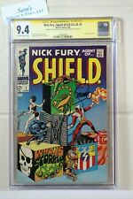 Nick Fury, Agent of S.H.I.E.L.D. #1  CGC/SS 9.4  1968  Jim Steranko   Joe Sinnot