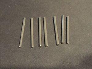 Fischertechnik Lot of 7 - 31032: METAL-AXLE 60 MM