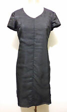 FENDISSIME Abito Vestito Donna Lana Jersey Wool Woman Dress Sz.M - 44