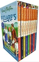 Enid Blyton St Clare's 9 Books Collection Set (Kitty at St Clare's) Brand New