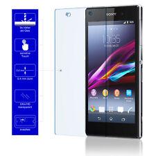 9H Schutzglas Echt Glas Handy Cover Schutzfolie für Original Sony Xperia Z1