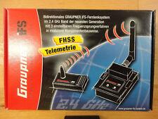 Graupner XR-20 IFS 2.4 Ghz 10 Kanal Empfänger Neu und Original verpackt