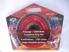 Sondpex 4GA 1500W Complete Amp Kit