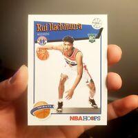 Rui Hachimura 2019-20 Panini Hoops ROOKIE Washington Wizards Basketball PSA 10?