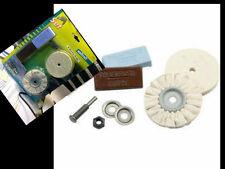 disques feutre de polissage + 2 pate a polir Kit metal jielde jumo bakelite