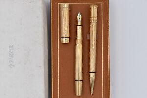 PARKER Duofold International Presidential Sample Fountain Pen & Ballpoint Pen