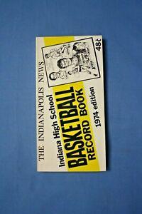 1974 Indianapolis News Basketball Record Book Kent Benson cover nm-mt