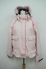 ROXY LIFE Ladies Light Pink Long Sleeved Hooded Neckline Ski Jacket Size M