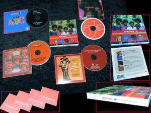 JACKSON 5 4 Original Albums 2010 reissue 4-CD box set NEW/SEALED Michael Jackson
