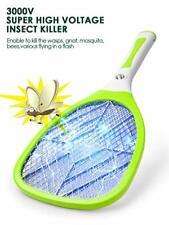Raquette Anti Moustique Electrique Insectes Tapette à Mouche Efficace