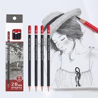 12Pcs Graphite Sketching Pencils Drawing Pencil Set School Office Art Tool