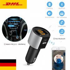 Auto Bluetooth FM Transmitter MP3 Player  KFZ SD USB Stick AUX Freisprechanlage