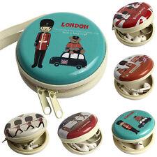Mini Zipper Kopfhörer Kopfhörer Box Tasche SD Karte Tragetasche Aufbewahrung