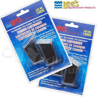 Activated Carbon Filter Cartridges Lee's Aquarium Under-Gravel/UGF 2 Packs of 2