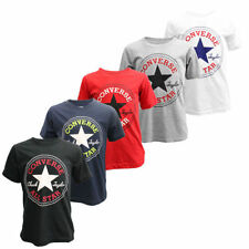 Converse Boys' Logo 100% Cotton T-Shirts, Tops & Shirts (2-16 Years)